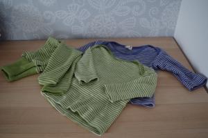 Cosilana siidi-villa pluusid ja püksid
