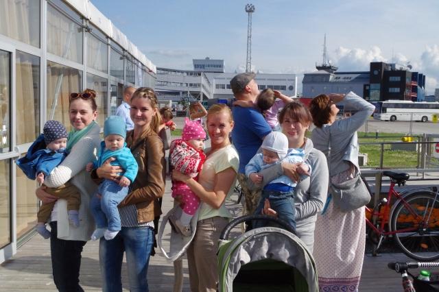 Emmed ja beebid enne lendu